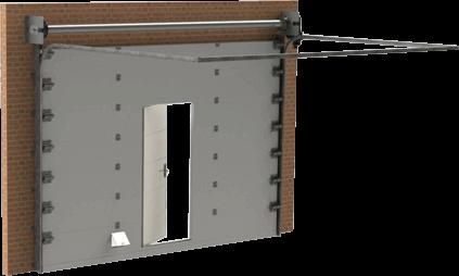 Секционные противопожарные ворота FireTechnics-S
